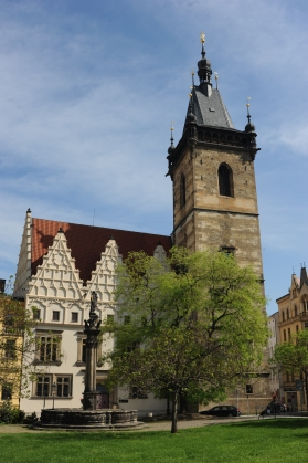 New Town Hall of Prague, site of the 1st Defenestration in 1419