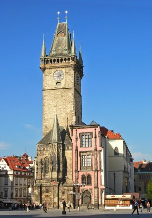Old Town Hall of Prague, site of the 1483 Defenestration