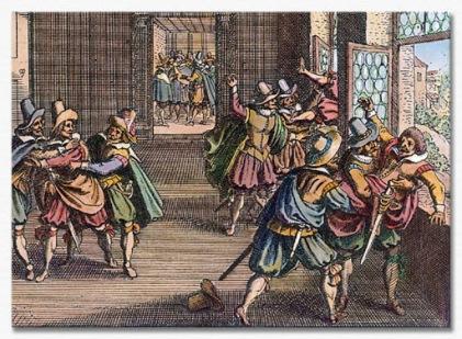 1618 Defenestration of Prague