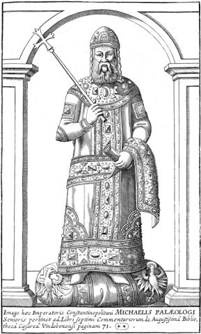 Emperor Michael VIII Palaiologos of Byzantium (r. 1261-1282)