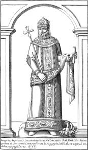 Emperor Andronikos II Palaiologos of Byzantium (r. 1282-1328)