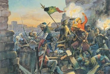 The Ottomans capture Constantinople, May 29, 1453
