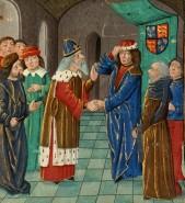 Manuel II visits King Henry IV in England