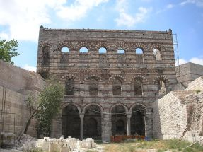 Remains of the Blachernae Palace, Constantinople