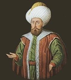 Ottoman sultan Murad I (r. 1362-1389)