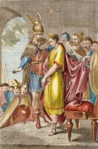 Odoacer deposes Romulus Augustus, 476