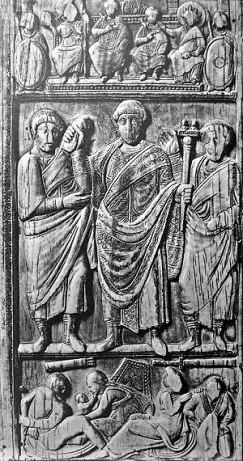 Relief of Honorius' co-emperor Constantius III (r. 421)