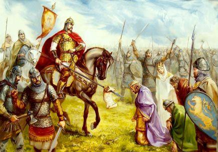 Despot Theodore defeated by the Bulgarian tsar Ivan Asen II, 1230