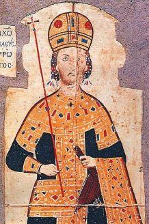 Emperor Andronikos III Palaiologos of Byzantium (r. 1328-1341)
