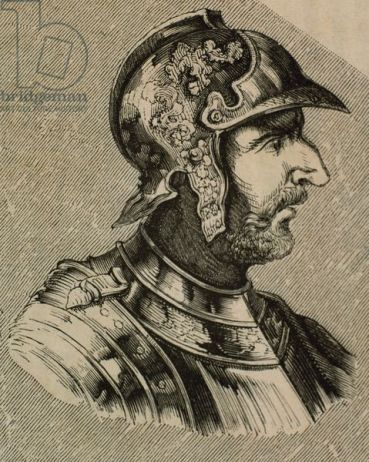 Wallia, King of the Visigoths (r. 415-418)