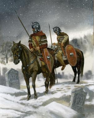 Mobile cavalry of Gallienus