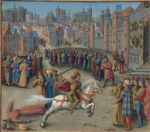 Isaac II Angelos comes to power, 1185