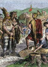 Stilicho confronts Radagaisus, 406