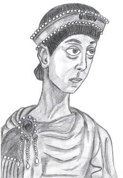 Emperor Arcadius of Byzantium (r. 395-408)