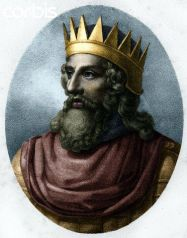 Merovech, King of the Franks (r. 450-458), ally of Aetius