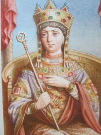 Empress Zoe, wife of Romanos IV and daughter of Constantine VIII