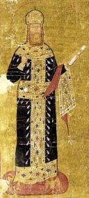 Emperor Andronikos II Palaiologos of Byzantium (r. 1282-1328), son of Michael VIII