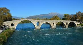 Arta, former capital of the Despot Epirus in Greece