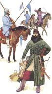 Pecheneg warriors