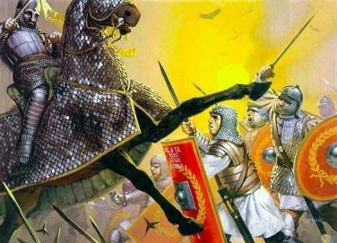 Battle of Rasaena, Roman victory against the Sassanids, 243