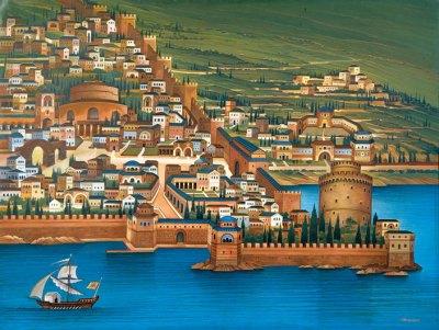 Byzantine era Thessaloniki