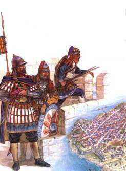 Byzantine soldiers in the 1341-1347 civil war
