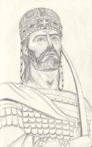 The last Byzantine emperor Constantine XI Dragases Palaiologos