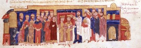 Coronation of Constantine IX, 1042