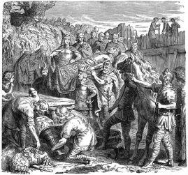 Death of Alaric, 410