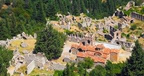 Mystras, capital of the Despotate of the Morea