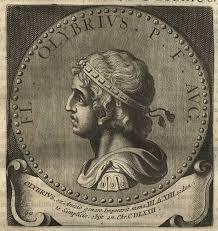 Western Roman emperor Anicius Olybrius (r. 472)