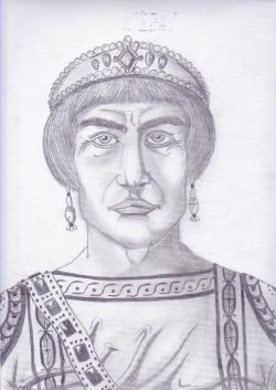 Emperor Zeno of Byzantium (r. 474-475/ 476-491)