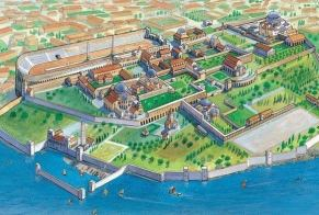 Byzantine Constantinople back in the day