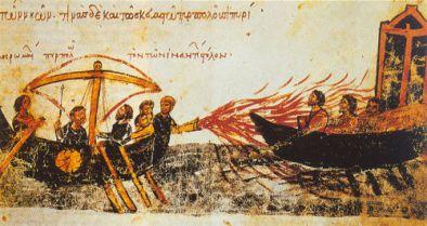 Greek Fire in Byzantium