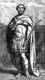 Huneric, King of the Vandals (r. 477-484), son of Gaiseric