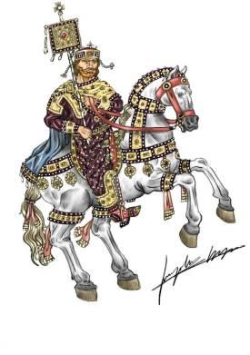 Emperor John I Tzimiskes of Byzantium (r. 969-976)
