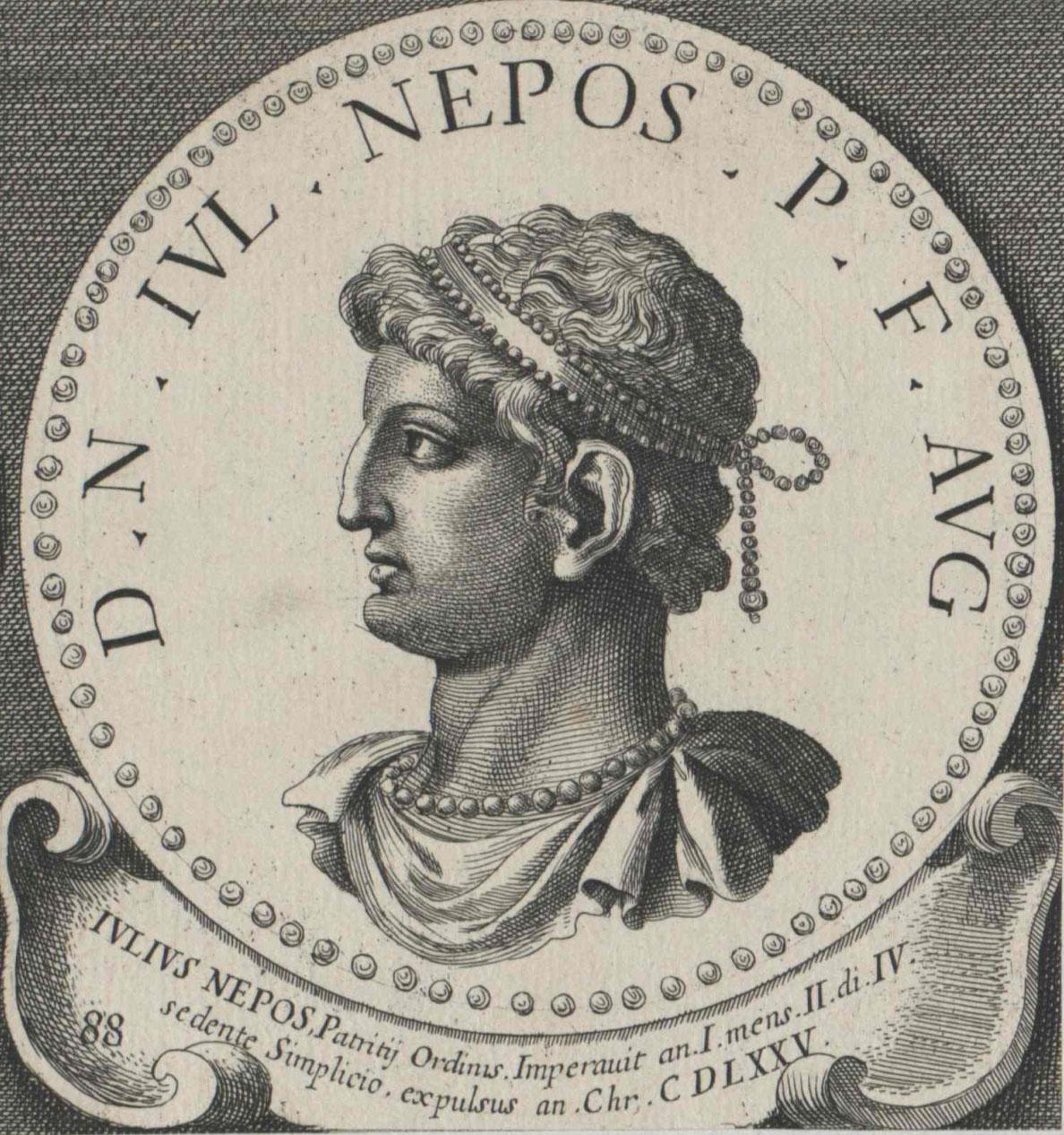 Julius Nepos, westrˆmischer Kaiser