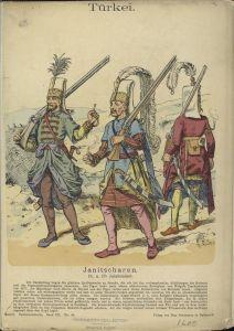 Ottoman Janissaries, 14th century