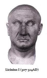 Emperor Licinius I (r. 308-324)