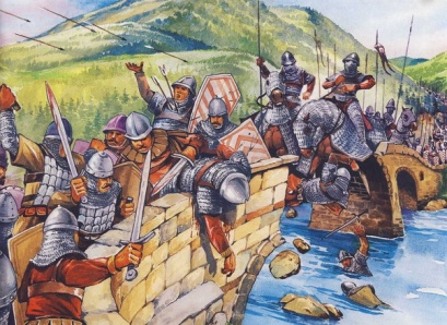 Andronikos III's forces battle the Bulgarians, 1330