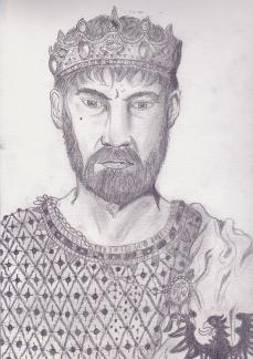 Manfred Hohenstaufen, King of Sicily (r. 1258-1266)