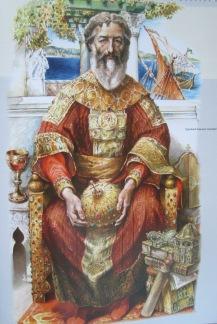 Emperor Manuel II Palaiologos (r. 1391-1425)