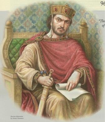 Emperor Nikephoros II Phokas of Byzantium (r. 963-969)