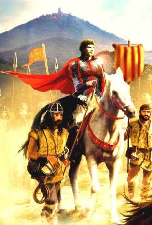 Roger de Flor and his Catalan mercenary army