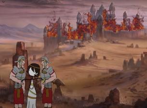 Aurelian captures Palmyra and Zenobia in 272, by Dovahhatty