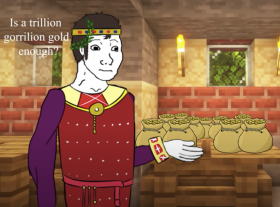 Theodosius II pays his bribes to Attila