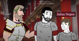 Marcellinus and Julius Nepos return support to Majorian