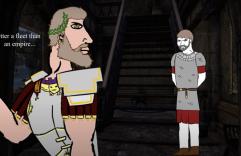 Majorian and his Magister Militum Aegidius (right)