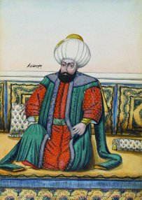 Ottoman sultan Mehmed I (r. 1413-1421)