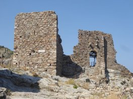 Gattilusio family castle, Lesbos